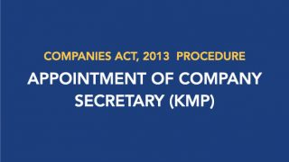 Procedure for Appointment of Company Secretary (KMP)