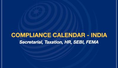 Compliance Calendar – India
