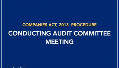 Procedure for Conducting Audit Committee Meeting