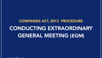 Procedure for Conducting Extraordinary General Meeting (EGM)