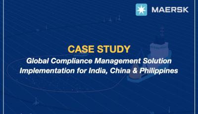 Maersk Case Study – Regulatory Compliance Management Solution