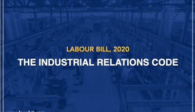 The Industrial Relations Code, 2020