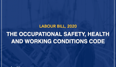 Factories & 12 Acts to Subsume Into OSHW Code, 2020